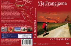 Via Francigena - der Frankenweg (DVD) - Dokumentation einer Fußpilgerschaft zu Fuss nach Rom                                                                                   ISBN: ISBN:3-200-00500-9         Preis: € 18,50 Reisedokumentation über die Via-Francigena, dem 1000jährigen Pilgerweg mit einer Gesamtlänge von ca. 1900 km, von Canterbury nach Rom, wird der abenteuerliche Alltag eines modernen Pilgers hautnah vermittelt, der seine Reise in Lausanne (1.000 km vor Rom) beginnt...  Man erlebt die tägliche Suche nach einer Unterkunft, den richtigen Weg zu finden und körperlich den Belastungen gewachsen zu sein. Dieser körperliche und geistige Grenzgang des Pilgers führt durch malerische Landschaften, die ihren Höhepunkt in einer noch unberührten Toskana findet. Durch mitreißende Erlebnisberichte wird der Zuschauer dazu verleitet, den Rucksack zu packen und sich selber auf den Weg zu machen. Als Bonus finden Sie Interviews von Fachleuten wie Internisten, Orthopäden, Psychologen, geistlichen Würdenträgern, Osteopathen und Bewegungstherapeuten, die nützliche Tipps und Tricksoptimal vorbereiten kann. verraten, wie sich ein Pilger auf solch eine Reise optimal vorbereiten kann.