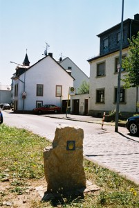 Wegzeichen in Trier