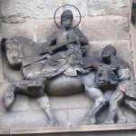 Darstellung des Hl. Marin an der Martinskirche in Trier