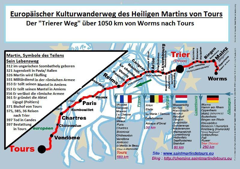 Martinswegkarte