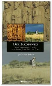 """Joan Fiel Boada: Der Jakobsweg - Camino Catalán © 2007 by Hampp Media GmbH, Stuttgart ISBN: 978-3-936682-10-6 Preis: € 14,90 Dieser Wanderführer ist der erste deutsche Guide, der den katalanischen Weg (""""camino catalán"""" von Montserrat bis Logroño) ausführlich in 15 Etappen beschreibt. Der bekannteste Weg ist der französische (""""camino francés"""") von Saint Jean Pied de Port bis Santiago. Er wird besonders umfassend und detailliert in 29 Etappen vorgestellt. Der Weg nach Finisterre von Santiago zum Cabo de Finisterre in drei Etappen ergänzt die anderen beiden Routen."""